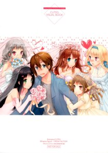 Rating: Safe Score: 29 Tags: cleavage cuteg dress kannagi_miyabi kono_naka_ni_hitori_imouto_ga_iru! kunitachi_rinka megane mikadono_shougo sagara_mei tendou_mana tsuruma_konoe wedding_dress User: sagematt