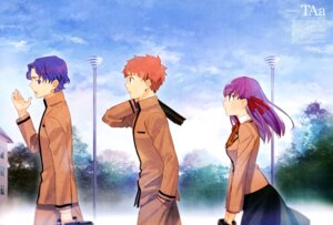 Rating: Safe Score: 16 Tags: emiya_shirou fate/stay_night fate/stay_night_heaven's_feel matou_sakura matou_shinji seifuku taa User: drop
