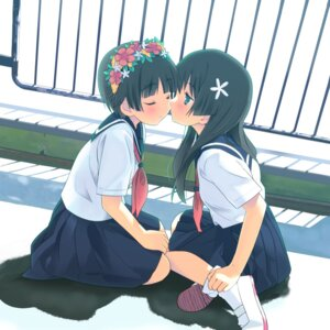 Rating: Safe Score: 80 Tags: houmitsu saten_ruiko seifuku to_aru_kagaku_no_railgun to_aru_majutsu_no_index uiharu_kazari yuri User: Shuugo