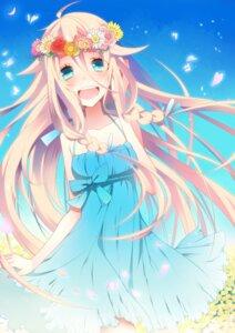 Rating: Safe Score: 25 Tags: dress ia_(vocaloid) summer_dress temari_(artist) vocaloid User: ddns001