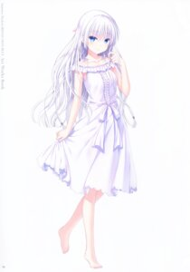 Rating: Safe Score: 27 Tags: dress key na-ga naruse_shiroha summer_dress summer_pockets summer_pockets_reflection_blue User: marechal
