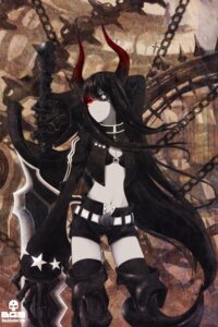 Rating: Safe Score: 28 Tags: auer black_gold_saw black_rock_shooter horns sword thighhighs vocaloid User: Radioactive