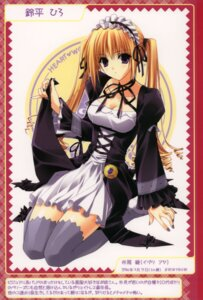 Rating: Safe Score: 26 Tags: berry's gothic_lolita izutsu_aya lolita_fashion suzuhira_hiro thighhighs waitress User: Lore