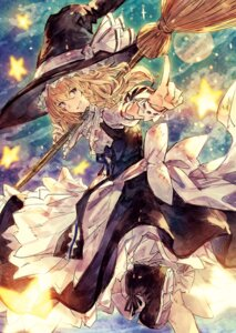Rating: Safe Score: 27 Tags: benitama kirisame_marisa touhou witch User: Mr_GT
