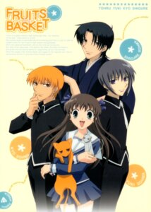 Rating: Safe Score: 2 Tags: fruits_basket honda_tohru sohma_kyo sohma_shigure sohma_yuki User: Radioactive
