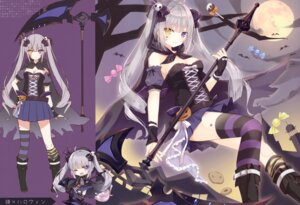 Rating: Questionable Score: 39 Tags: chibi halloween heterochromia hoshi tagme weapon User: kiyoe