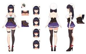 Rating: Questionable Score: 24 Tags: abeen_jhong character_design expression garter heels no_bra thighhighs User: Dreista