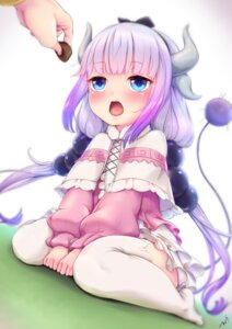 Rating: Safe Score: 73 Tags: horns kanna_kamui kobayashi-san_chi_no_maid_dragon kurofude_anastasia tail thighhighs User: Mr_GT