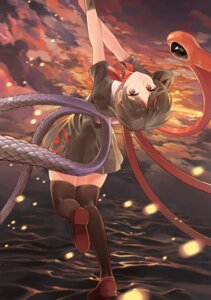 Rating: Safe Score: 40 Tags: ameyame dress houjuu_nue thighhighs touhou wings User: Mr_GT