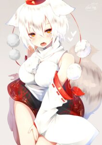 Rating: Safe Score: 42 Tags: animal_ears chita_(ketchup) inubashiri_momiji tail touhou User: Mr_GT