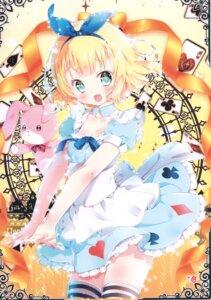 Rating: Safe Score: 20 Tags: alice alice_in_wonderland cosplay gochuumon_wa_usagi_desu_ka? kamiya_maneki kirima_sharo manekineko User: Radioactive