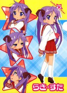 Rating: Safe Score: 13 Tags: hiiragi_kagami lucky_star seifuku User: hyde333