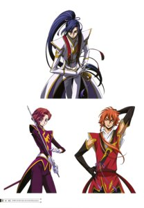 Rating: Safe Score: 5 Tags: akito_the_exiled ashley_ashura code_geass jean_rowe shin_hyuuga_shaingu sword User: drop