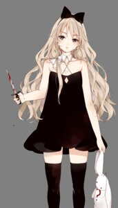 Rating: Safe Score: 40 Tags: blood cleavage dress starpri thighhighs weapon User: nphuongsun93