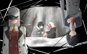 Rating: Safe Score: 18 Tags: darling_in_the_franxx hiro_(darling_in_the_franxx) horns koki_1009 tagme uniform zero_two_(darling_in_the_franxx) User: Spidey