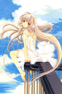 Rating: Safe Score: 16 Tags: chii chobits clamp dress summer_dress User: Share