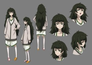 Rating: Safe Score: 9 Tags: character_design expression hiyajou_maho steins;gate_0 transparent_png User: saemonnokami