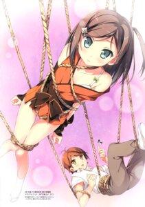 Rating: Questionable Score: 106 Tags: bondage bra hentai_ouji_to_warawanai_neko kantoku tsutsukakushi_tsukiko yokodera_youto User: Twinsenzw