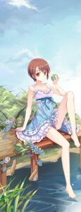 Rating: Safe Score: 40 Tags: cleavage dress summer_dress young-in User: fireattack