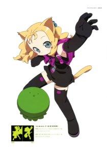 Rating: Safe Score: 12 Tags: animal_ears dress kanzaki_hiro nekomimi summer_dress tail thighhighs User: Anonymous
