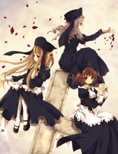 Rating: Safe Score: 11 Tags: cornelia dlanor_a_knox gertrude hinazawa_kirie umineko_no_naku_koro_ni User: Endless