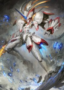 Rating: Safe Score: 20 Tags: daniel_kamarudin darling_in_the_franxx horns mecha strelizia User: Spidey