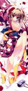 Rating: Questionable Score: 137 Tags: breasts dakimakura izumi_tsubasu kimono mashiroiro_symphony nipples no_bra nopan open_shirt palette sena_airi User: Drich007