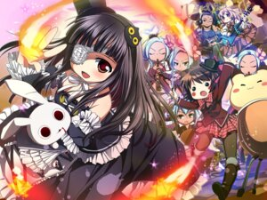 Rating: Safe Score: 27 Tags: eyepatch gothic_lolita lolita_fashion nagayama_yuunon wallpaper User: fairyren