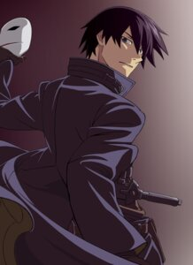 Rating: Safe Score: 8 Tags: darker_than_black hasebe_atsushi hei male vector_trace User: MarySan
