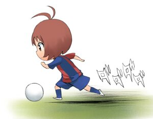Rating: Safe Score: 5 Tags: a1 chibi hidaka_ai initial-g soccer the_idolm@ster the_idolm@ster_dearly_stars User: Radioactive