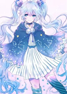 Rating: Safe Score: 32 Tags: dress fuyu_no_yoru_miku tagme thighhighs vocaloid User: charunetra