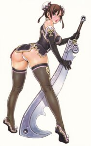 Rating: Questionable Score: 63 Tags: ass non-non pantsu sword thighhighs yamashita_shunya User: Radioactive
