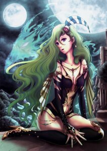 Rating: Safe Score: 15 Tags: cleavage final_fantasy final_fantasy_iv heels minus_ion no_bra rydia see_through thighhighs User: Zenex