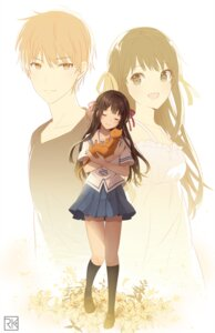Rating: Safe Score: 26 Tags: dress fruits_basket honda_tohru neko rumikuu seifuku sohma_kyo summer_dress User: hiroimo2