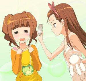 Rating: Safe Score: 5 Tags: a1 initial-g minase_iori takatsuki_yayoi the_idolm@ster User: Radioactive