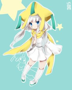 Rating: Safe Score: 31 Tags: anthropomorphization dress jirachi pokemon takeshima_(nia) User: charunetra