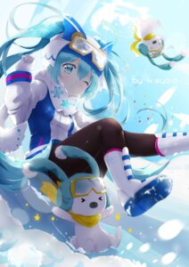 Rating: Safe Score: 43 Tags: hatsune_miku kuroi_asahi pantyhose vocaloid User: Mr_GT