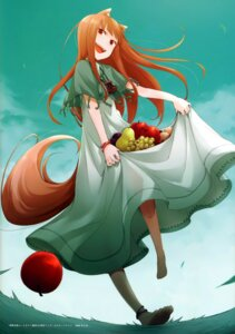 Rating: Safe Score: 30 Tags: animal_ears ayakura_juu dress holo spice_and_wolf tail User: Radioactive