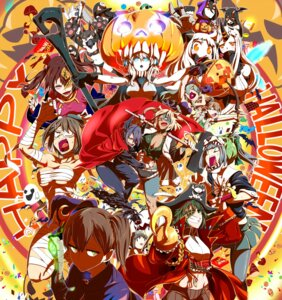 Rating: Safe Score: 22 Tags: animal_ears bandages battleship-symbiotic_hime bodysuit cleavage eyepatch halloween horns kaga_(kancolle) kantai_collection maya_(kancolle) megane musashi_(kancolle) no_bra northern_ocean_hime pantyhose pirate pointy_ears sarashi seaport_hime suzuya_(kancolle) tail tenryuu_(kancolle) torichamaru underboob weapon wo-class_aircraft_carrier User: Mr_GT