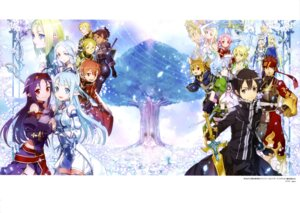Rating: Safe Score: 38 Tags: abec alfheim_online animal_ears armor asuna_(sword_art_online) freyja_(sword_art_online) jun_(sword_art_online) kirito klein_(sword_art_online) konno_yuuki leafa lisbeth megane nori_(sword_art_online) pointy_ears silica sinon siune sword sword_art_online talken tecchi thighhighs weapon wings yui_(sword_art_online) User: drop