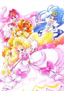 Rating: Safe Score: 7 Tags: akagi_towa amanogawa_kirara dress go!_princess_pretty_cure haruno_haruka kaidou_minami kamikita_futago pretty_cure User: drop