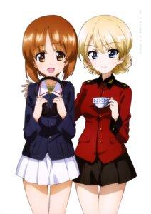 Rating: Safe Score: 23 Tags: darjeeling girls_und_panzer headphones nishizumi_miho seifuku uniform User: drop