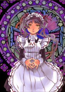 Rating: Safe Score: 10 Tags: binding_discoloration endou_minari maid maria_holic screening shinouji_matsurika User: Furlong