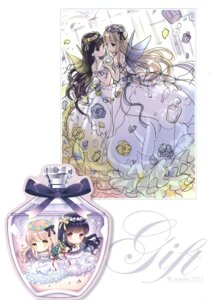 Rating: Questionable Score: 9 Tags: chibi dress sketch tagme w.label wasabi_(artist) wings yuri User: Radioactive