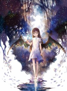 Rating: Safe Score: 61 Tags: deemo dress feet little_girl sishenfan wings User: Noodoll