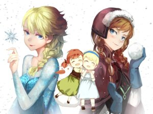 Rating: Safe Score: 26 Tags: anna_(frozen) chibi dress elsa_(frozen) frozen saberiii User: Radioactive