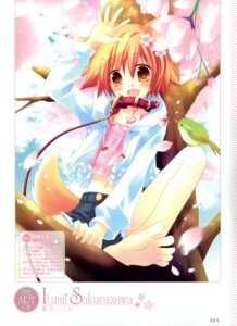 Rating: Safe Score: 19 Tags: animal_ears feet sakurazawa_izumi tail User: crim