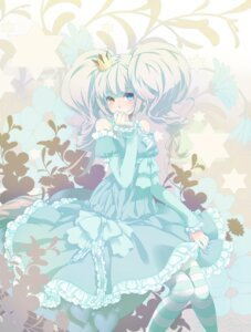 Rating: Safe Score: 42 Tags: dress heterochromia lolita_fashion thighhighs zerokichi User: Radioactive