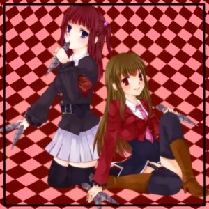 Rating: Safe Score: 5 Tags: mammon n_ayu seifuku thighhighs umineko_no_naku_koro_ni ushiromiya_ange User: 洛井夏石