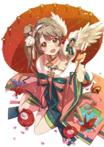 Rating: Safe Score: 53 Tags: hekicha japanese_clothes love_live! minami_kotori umbrella User: Mr_GT